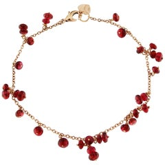 Jona Burmese Spinel Gold Bracelet