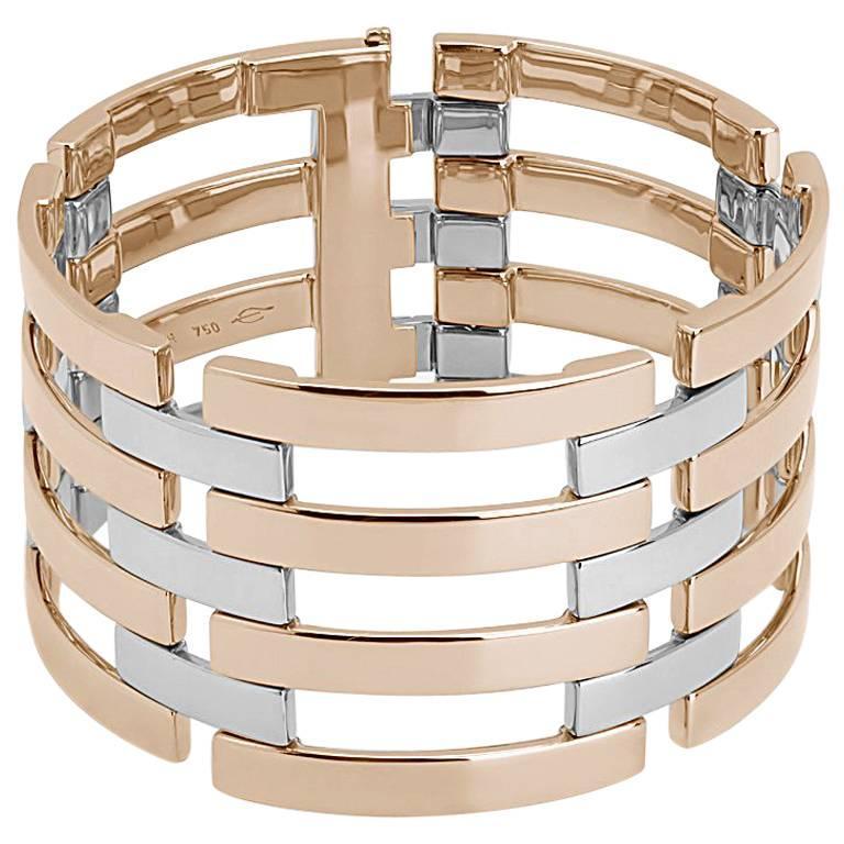 Colleen B. Rosenblat Two-Color Gold Link Bracelet