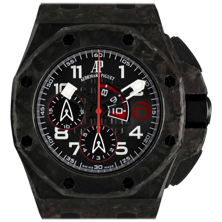 Audemars Piguet Carbon Royal Oak Offshore Alinghi Automatic Wristwatch