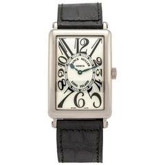 Franck Muller White Gold Long Island self-winding wristwatch Ref. 1000 SC