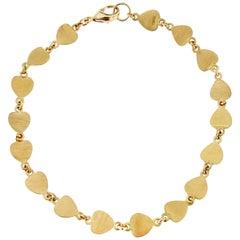 Jona Multi-Heart Yellow Gold Bracelet
