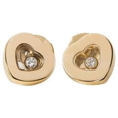 Chopard Happy Diamonds Stud Earrings