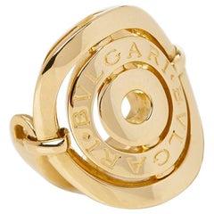 Bulgari Yellow Gold Cerchi Ring