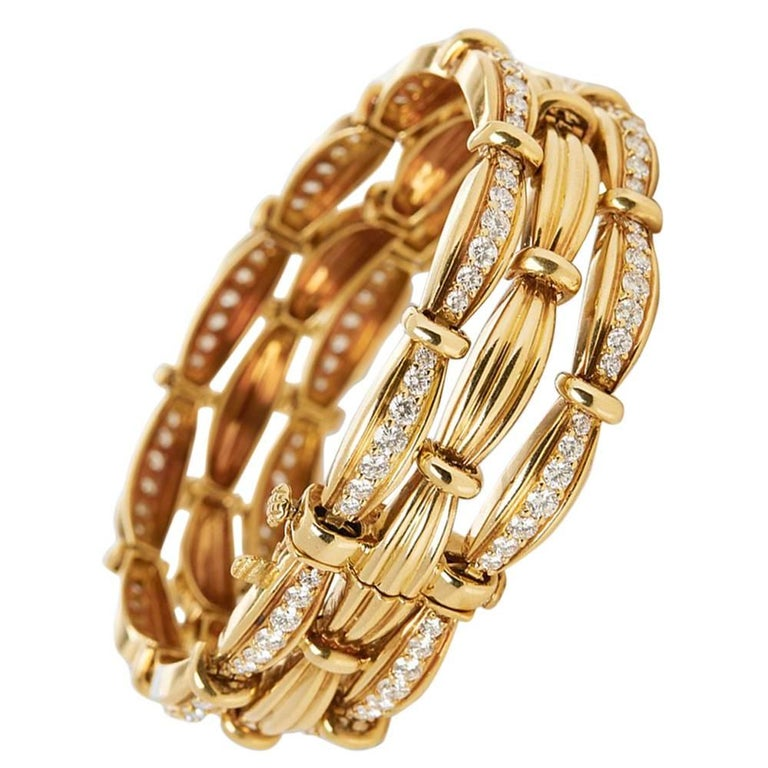 Tiffany & Co. Diamond Vintage Bracelet