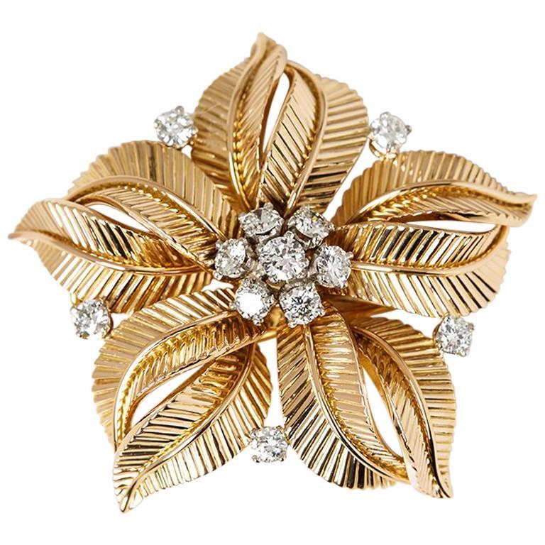 Cartier Vintage Diamond Brooch