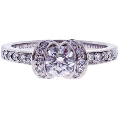 Tiffany & Co. Round Brilliant Ribbon Ring