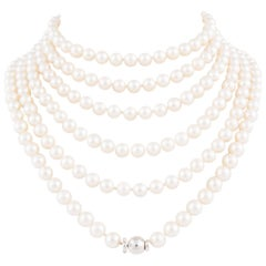 Pearl Rope Necklaces