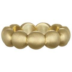 Faye Kim Gold Granulation Bead Band Ring