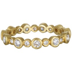 Faye Kim Diamond Eternity Band Ring