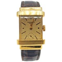 Patek Philippe yellow gold Vintage Top Hat Manual Wristwatch, circa 1940s