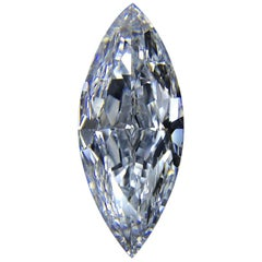 GIA Certified 3.05 Carat Fancy Light Blue VVS2 Marquise Diamond