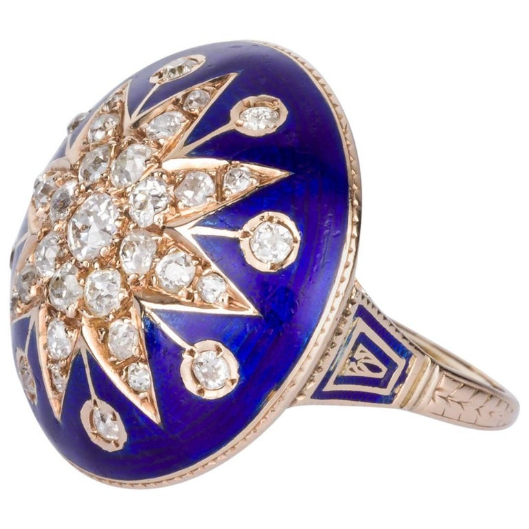Victorian Blue Enamel Diamond Cocktail Ring At 1stdibs. Matt Wedding Rings. Single Oval Engagement Rings. Multiple Stone Engagement Rings. Zuni Engagement Rings. Pen Rings. Heliodor Engagement Rings. Evil Queen Rings. Real Wedding Rings
