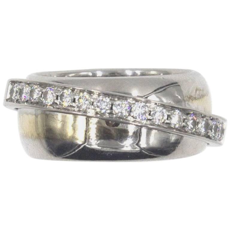 Piaget Possession 18-karat White Gold Diamond Ring Ou5V5Y1