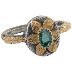 Emma Chapman Emerald Yellow Gold Ring