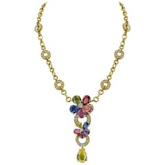 Bvlgari Necklace from 'Sapphire Flower' Collection
