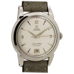 Omega Stainless Steel Seamaster Automatic Wristwatch, Ref 2757-1 SC, circa 19520