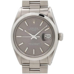 Rolex Stainless Steel Oyster Perpetual Date Wristwatch, Ref 1500