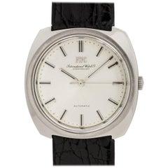 IWC Stainless Steel Schaffhausen Automatic Wristwatch, circa 1968