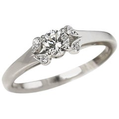 Cartier Diamond Ballerine Engagement Ring