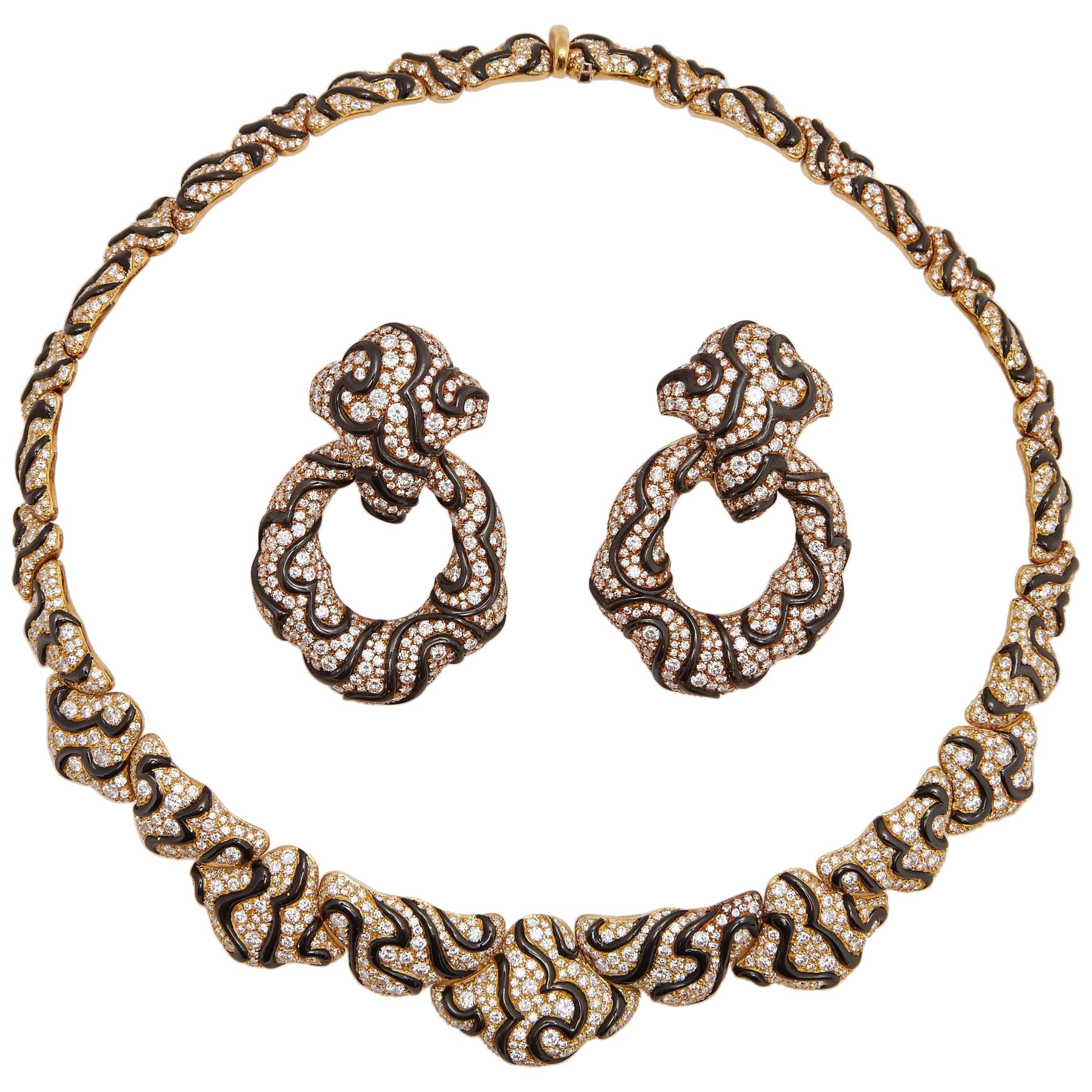 Marina B Rare Gold and Diamond Set