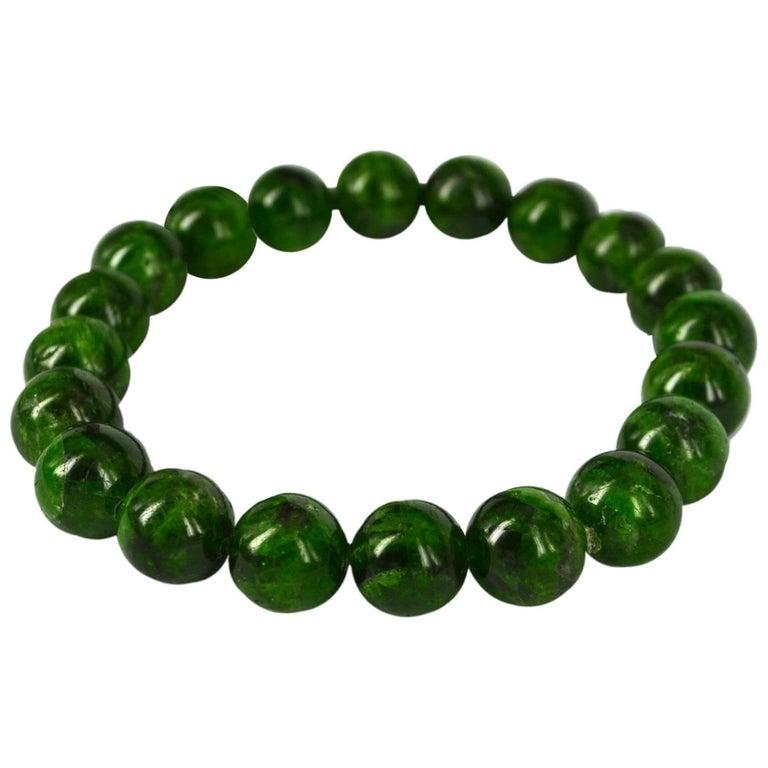 Decadent Jewels Chrome Diopside Bracelet