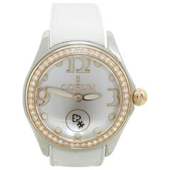 Corum Bubble Mother-of-Pearl Automatic Stainless Steel Wristwatch