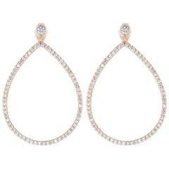 1.03 Carat Diamond Earrings