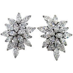 Van Cleef & Arpels Cluster Earrings