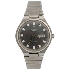 1955 Tissot Seastar Stainless Steel Wristwatch
