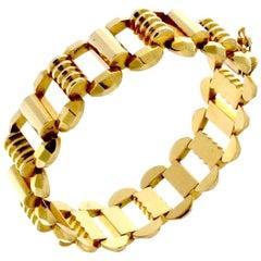 18 Karat Gold Vintage gold bracelet