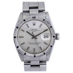 Rolex Stainless Steel Date Wristwatch Ref 1501, circa 1970