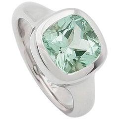Certified 2.62 Carat Tourmaline Ring