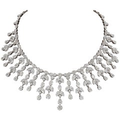 Grand Diamond Drop Necklace