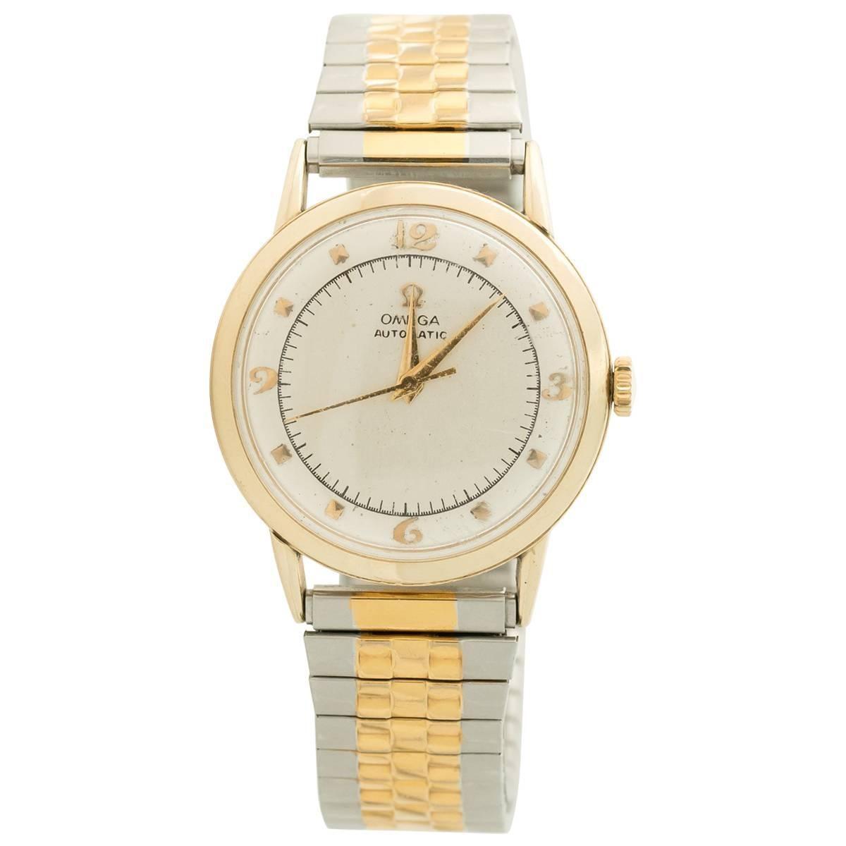 1950s Omega 14K Gold Wristwatch