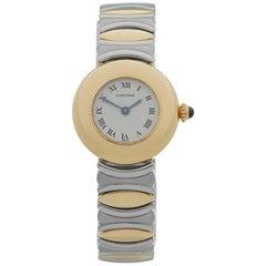 Cartier Ladies Yellow Gold Colisee Quartz Wristwatch Ref 0565, 1980s