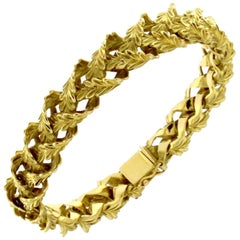 Bracelet from the Whisky Collection in 18 Karat Yellow Gold