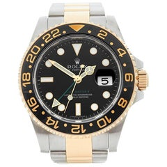 Rolex Yellow Gold Stainless Steel Gmt-Master II Automatic Wristwatch, 2007