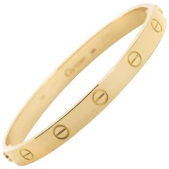 Cartier Yellow Gold Love Bracelet