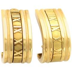 Tiffany & Co. Gold Atlas Hoop Earrings