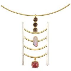 Ladder Omega Necklace