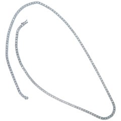 Versatile Diamond Line Necklace