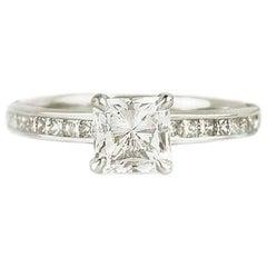 GIA Certified 1.10 Carat Diamond Engagement Ring