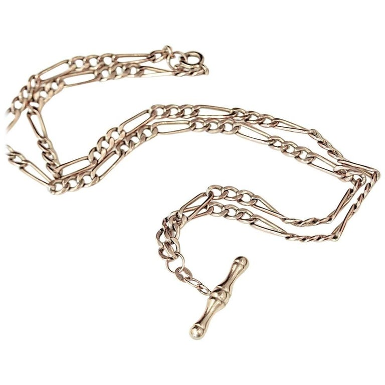 Vintage 1930's Fob chain necklace
