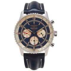 Breitling stainless steel chronograph Football automatic Wristwatch, 1994