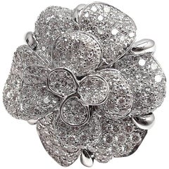 Chanel Diamond Camelia Ring