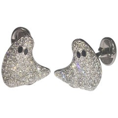 Staurino Fratelli Diamond Ghost Cufflinks