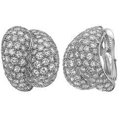 Clip-On Diamond Earrings