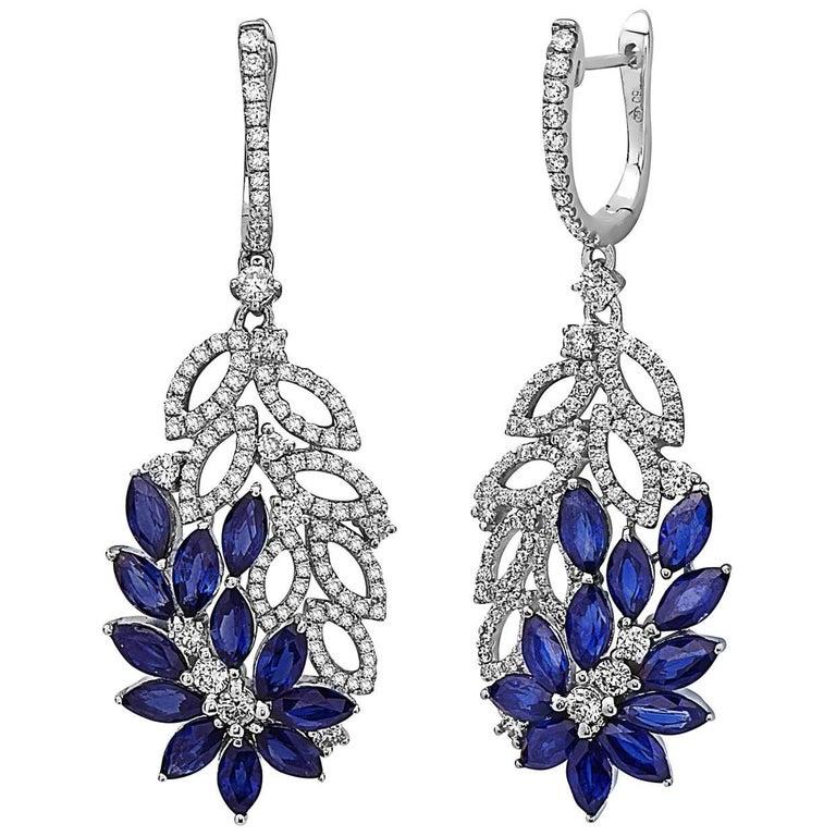 Flower Dangle Earrings 1