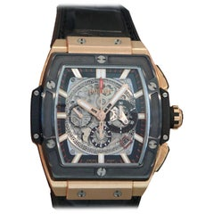 Hublot Rose Gold Spirit of Big Bang Chronograph Automatic Wristwatch