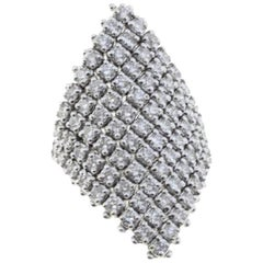 Diamonds White Gold and Diamonds Fashion Ring